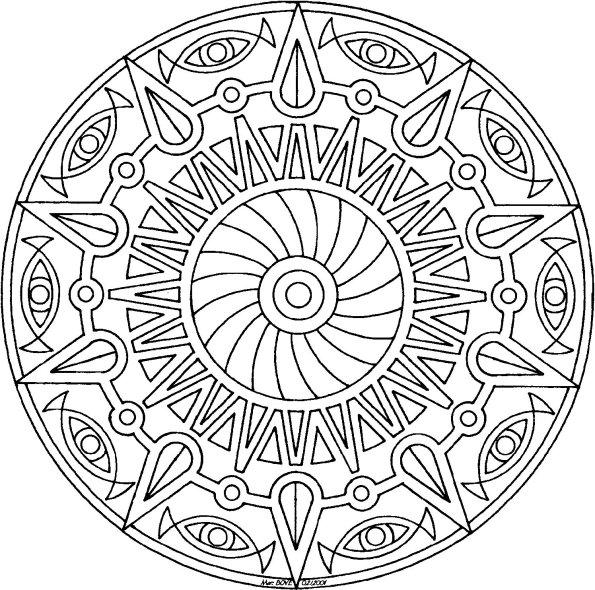 101 ideas  25  mandala coloring pages