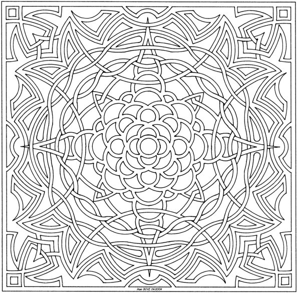 101 ideas 25 mandala coloring pages